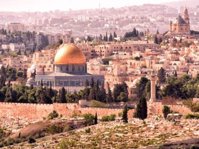 Turist în Țara Sfântă
