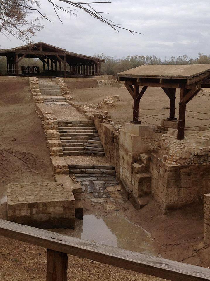 Foto: Locul unde a fost botezat Iisus Hristos