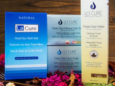 Cosmetice cu minerale de la Marea Moartă, lansate recent în România