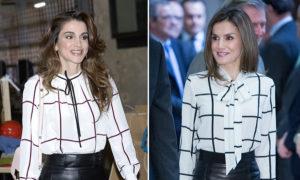 Asemănare izbitoare între cele două regine, etaloane ale eleganței