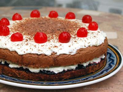 Prăjitură cu vișine ,,Deliciu